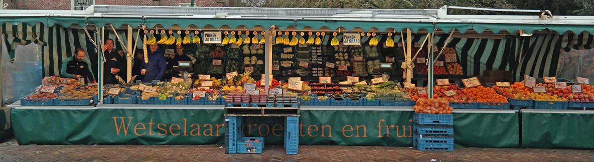 Marktkraam Wetselaar